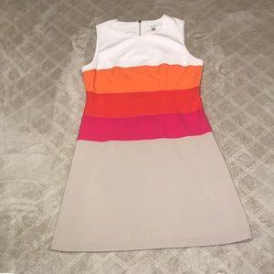 Calvin Klein color block dress business casual